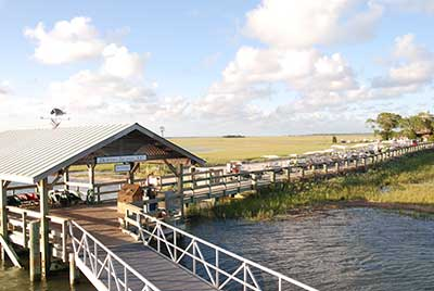 Dock at Dewees Island, South Carolina