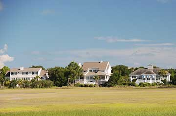 Homes on Dewees Island