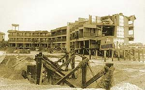 Hurricane Hugo damage - Isle of Palms, SC - aftermath