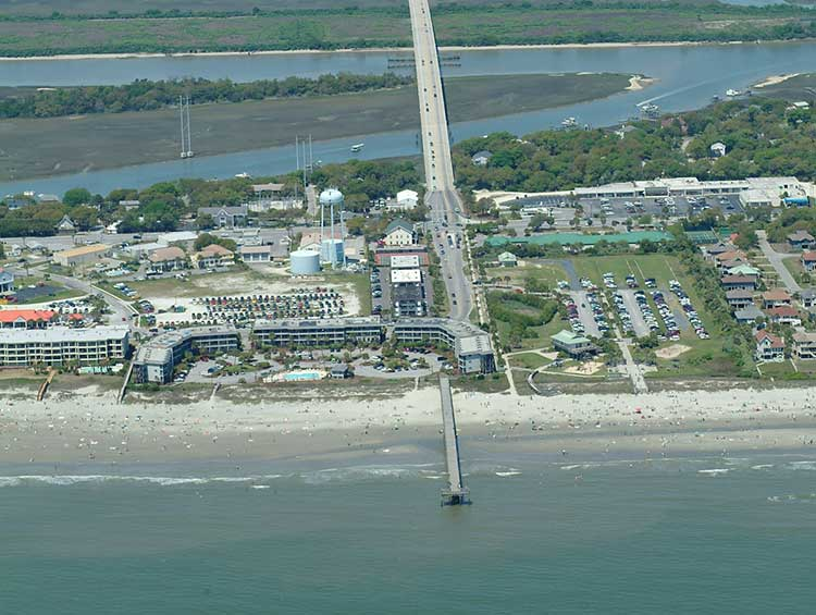 Isle of Palms, SC aerial photo