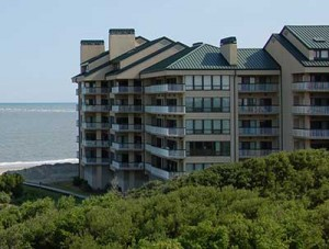 Condo building on Wild Dunes, Isle of Palms, SC
